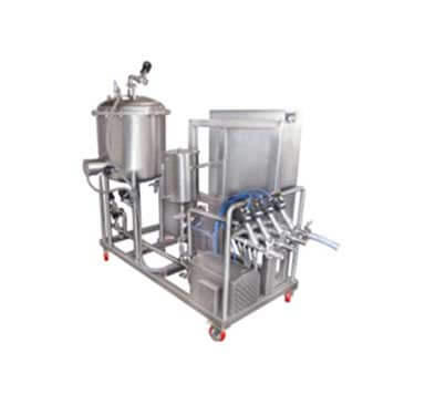 Skid Type Cip Syrup Manufacturing Plant Liquid Syrup