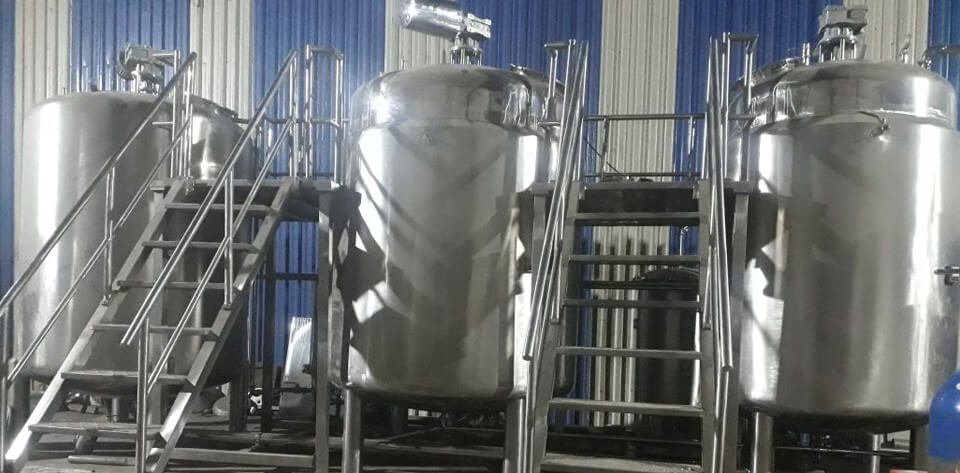Liquid Oral Suspension Manufacturing Plant
