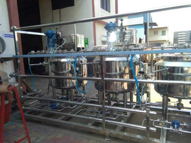 Automatic Liquid Syrup Manufacturing Plant
